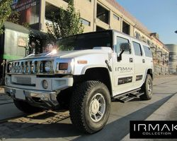 VB Prestiges - Beauvallon - Hummer H2 6.0 V8 Vortec 333ch Luxury Pack Blanc nacré