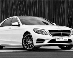 VB Prestiges - Beauvallon - Mercedes Classe S Limousine pack AMG blanc nacré
