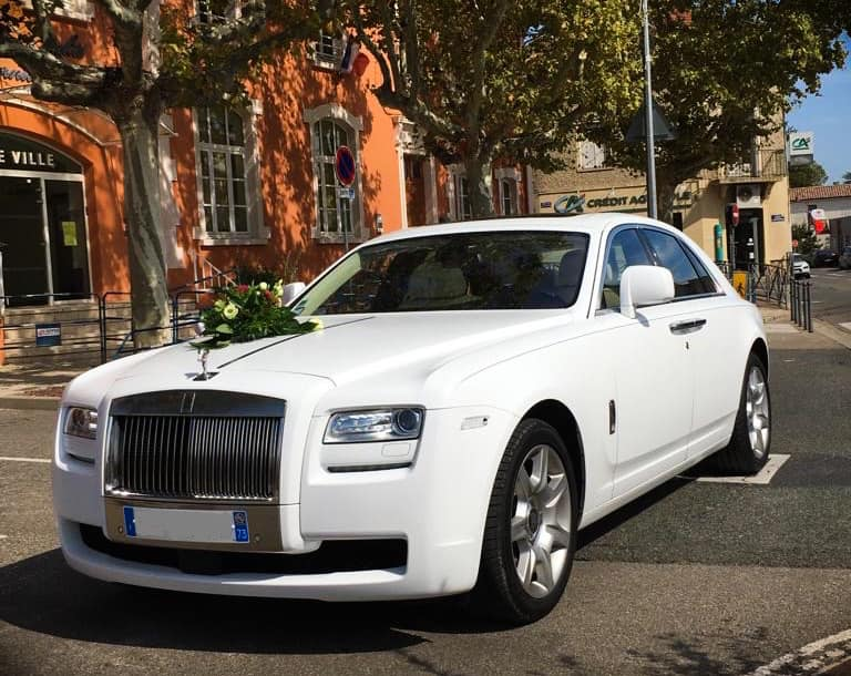Rolls Royce Ghost White Edition